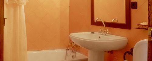 habitación El Mirador, vista baño