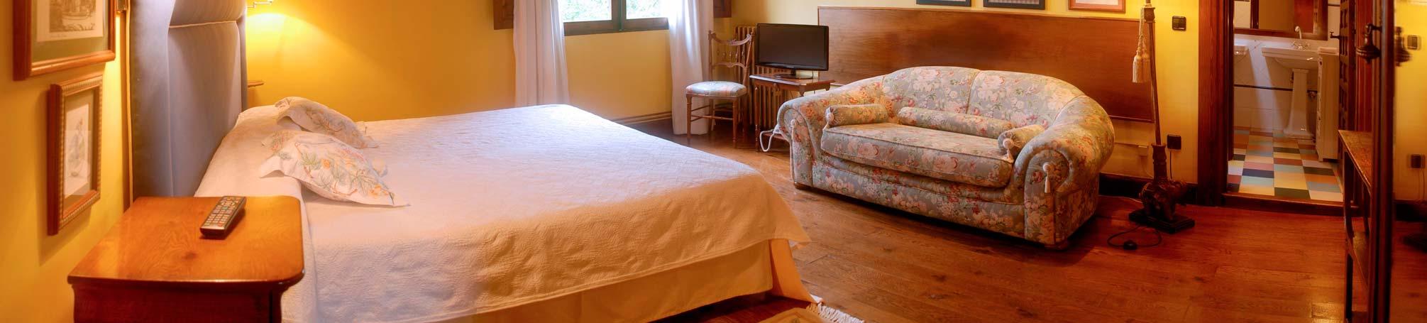 habitación el Sur en Andariveles