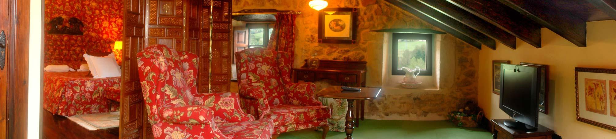 habitación la Suite en Andariveles