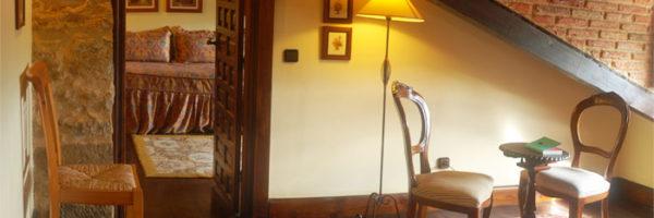 habitación los Buhardillones, vista detalles